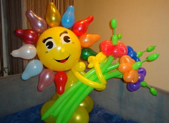 Поделки из воздушных шаров фото