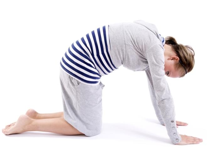 упражнения при симфизите третье