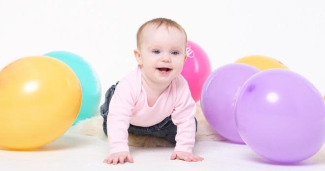 8 месяцев ребенку