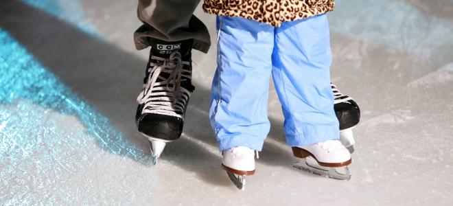 Как правильно научить ребенка кататься на коньках