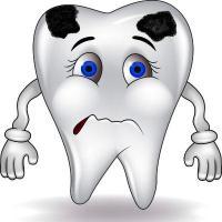 у ребенка чернеют зубы