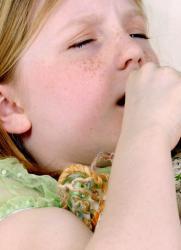 Ржаная лепешка от кашля