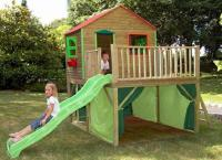 домик с горкой для детей 3