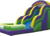 бассейн с горкой для детей 1