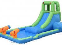 бассейн с горкой для детей 2