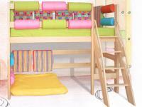 детская кровать чердак 2