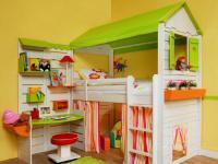 детская кровать чердак 3