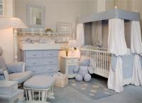 детские комнаты для новорожденных 1