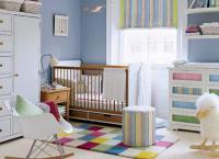 детские комнаты для новорожденных 4