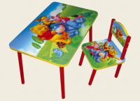 детские столы и стулья от 3 лет 12
