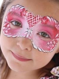 Рисунки на лице для детей10
