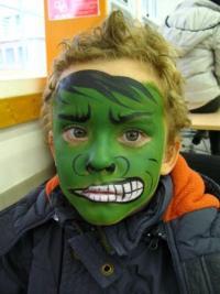 Рисунки на лице для детей4