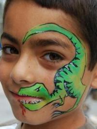 Рисунки на лице для детей6