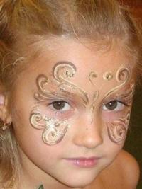 Рисунки на лице для детей7
