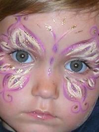 Рисунки на лице для детей9