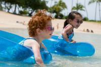 Подвижные игры для детей на воде