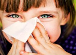 Симпптомы аллергии у детей