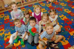 В детский сад первый раз