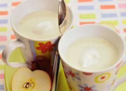 Молочный кисель для детей