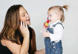 как научить ребенка первым словам