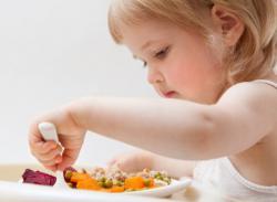Легкий ужин для ребенка