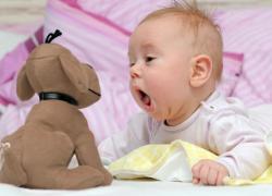 как развивать малыша в 3 месяца