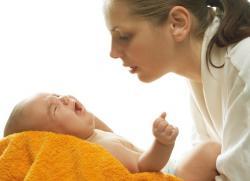 большой живот у новорожденного
