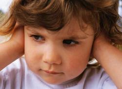экссудативный отит у детей
