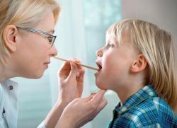 Дифтерия у детей симптомы