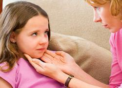 Ангина у детей симптомы