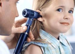 острый катаральный отит у ребенка