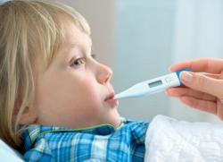 уксус при температуре у детей
