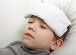 раствор уксуса от температуры для детей