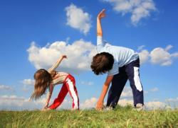 гимнастика для осанки для детей