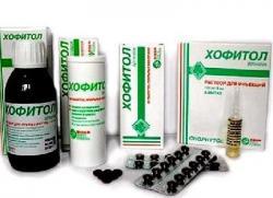 хофитол раствор для детей