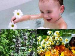 успокаивающие ванны для детей