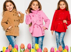 Демисезонная одежда для детей 5