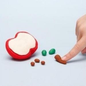 лепка из пластилина для детей 3