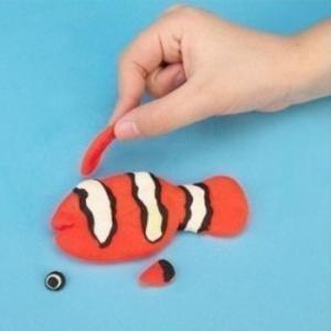 лепка из пластилина для детей 8