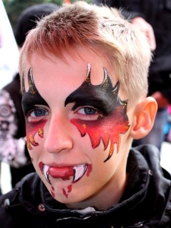 рисунки на лице фото для мальчиков